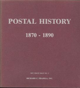 Frajola: Sale # Net Price 2  -  Postal History 1870-1890,...