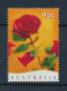 [73553] Australia 1997 Valentine's Day Flower Rose  MNH