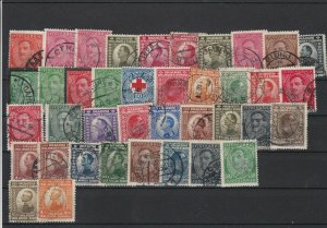Yugoslavia 1921-31 Used Stamps Many with Cancels Ref 29642