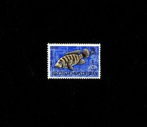 BRITISH HONDURAS - 1971 - FISH - MOZAMBIQUE TILAPIA - MARINE LIFE - MNH SINGLE!