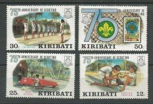 1982 Kiribati Scouts 75th anniversary