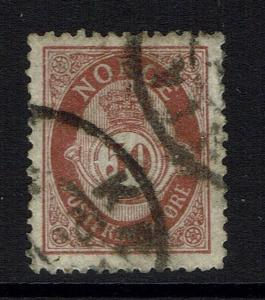 Norway SC# 57A - Used (Small Hinge Rem) - 090515