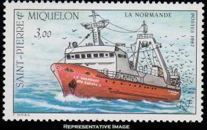 Saint Pierre & Miquelon Scott 495 Mint never hinged.