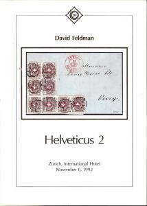 Feldman:    Helveticus 2, David Feldman;     Nov 6, 1992