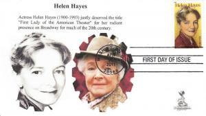 Helen Hayes First Day Cover