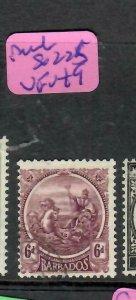 BARBADOS  (P01006B)  SEAHORSE  6D  SG 225   VFU