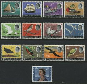 Pitcairn Island QEII1964 complete set unmounted mint NH