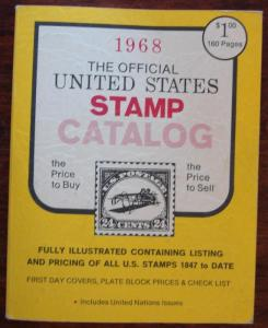 Catalog--US Stamp Catalog by HC Publishers 1965 L10