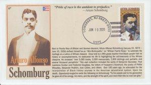 6° Cachets Arturo Schomburg historian bibliophile death anniversary Puerto Rico