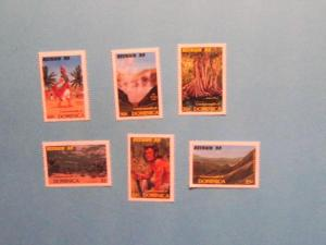 Dominica - 1074-79, MNH Set. Tourism Campaign. SCV - $2.70