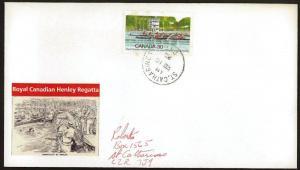 CANADA #968 1982 Royal Canadian Henley Regatta FDC (E)
