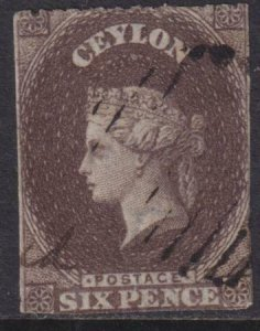 Ceylon 1861 SC 20A Used
