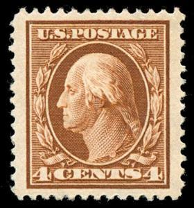 momen: US Stamps #377 Mint OG XF-SUP Jumbo