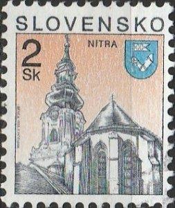 Slovakia, #152  Used , From 1993-95,  CV-$0.25