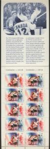 Canada 1660a BK201b MNH Sports, Series of the Century, Ice Hockey