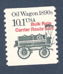2130a Oil Wagon Precancel US Single Mint/nh (Free Shipping)