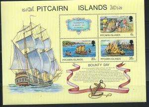 Pitcairn Islands #176a Bounty Day S/Sheet (MNH) CV$11.50