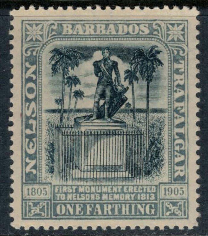 Barbados #110*  CV $6.25