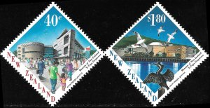 New Zealand # 1482 - 83 Mint Never Hinged