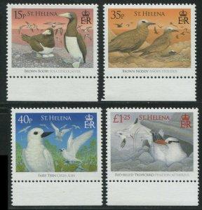 St. Helena 2008 948-951 Birds Booby Tern Tropicbird CV $10