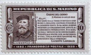 AlexStamps SAN MARINO #143 SUPERB Mint