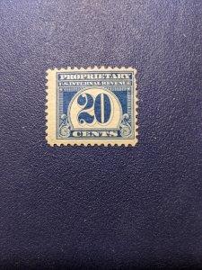 U.S. RB72 F-VFMH, CV $17.50