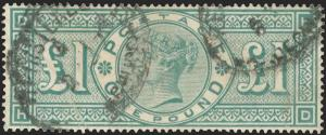 Great Britain Scott 111-126l Gibbons 197-214l Used Set of Stamps