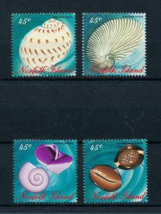 [99434] Norfolk Island 1996 Marine Life Sea shells  MNH