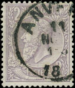 Belgium Scott #59 Used