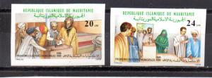 Mauritania 637-638 MNH imperf