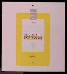 Scott/Prinz Pre-Cut Souvenir Sheets Small Panes Stamp Mounts 188x197 #996 Clear