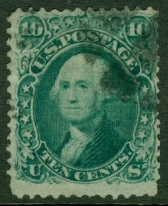 EDW1949SELL : USA 1868 Scott #96 Used. Small faults. Catalog $225.00.