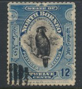 North Borneo  SG 173 SC# 145 spacefiller   perf 13½ x 14 see scans & details