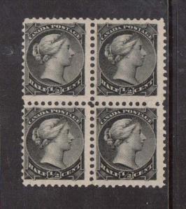 Canada #34 Mint Block