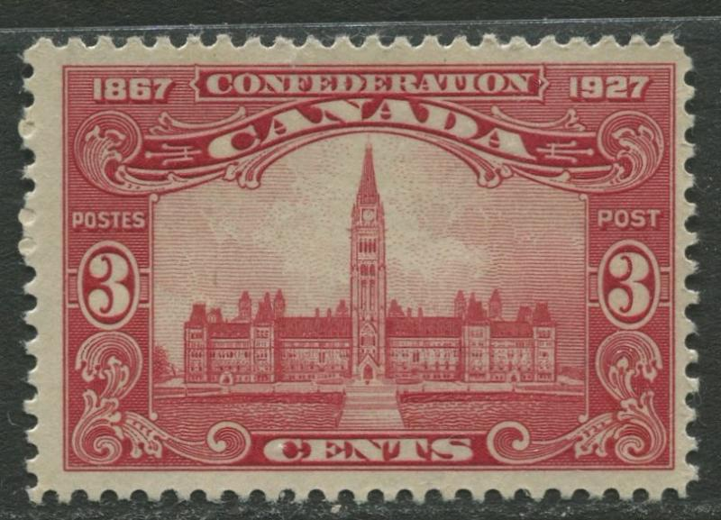 Canada - Scott 143 - General Issue - 1927- MLH -  Single 3c stamp