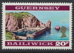 Guernsey  SG SG 57a pale shade SC# 54 Mint light hinge see details