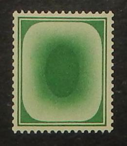 Great Britain Green sample stamp, KGV, NH