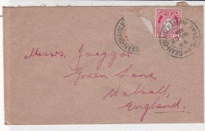 Ireland Eire 1946 Sean - Chaislenan Cancels  Stamp Cover to England Ref 34951