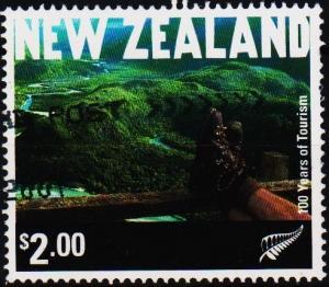 New Zealand. 2001 $2 S.G.2430 Fine Used