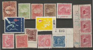China Revenue cinderella seal fiscal mix collection stamp ml41 as seen