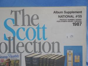 Scott National supplement 1987 #55