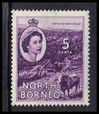 North Borneo Very Fine MLH ZA5652