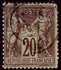 France SC#70 Used F-VF...Highly Collectible!!