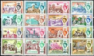 Bermuda #238, 240-54 MNH CV $26.00 (X6990)