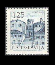 1971 Yugoslavia 1444 Architecture