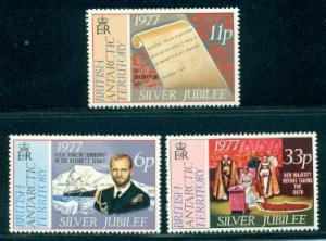 British Antarctic Territory #68-70  Mint  VF  NH  Scott $...