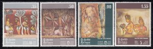 Sri Lanka, Sc  478-481, MNH, 1973, Rock & Temple Paintings, (LL00950)