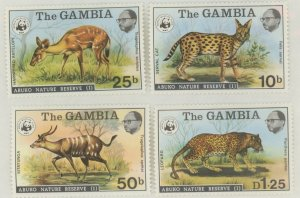 Gambia 341-4 * mint HR animal (2107 305)