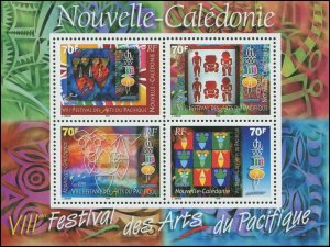 New Caledonia 2000 Sc 860 Art CV $6.25