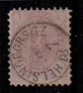 Finland Scott 24 Used (Catalog Value $175.00)